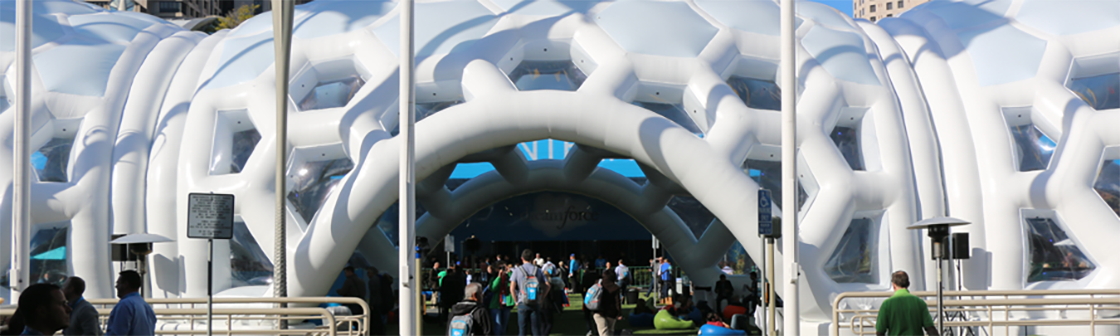 Dreamforce Inflatable Structure 2