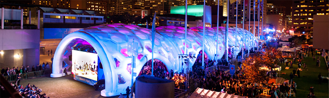 Dreamforce Inflatable Structure 5