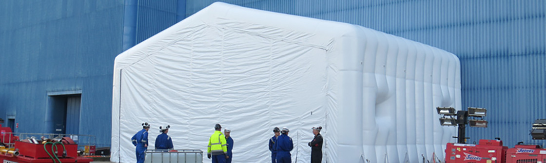 EDF Energy Inflatable Maintenance Enclosure 4