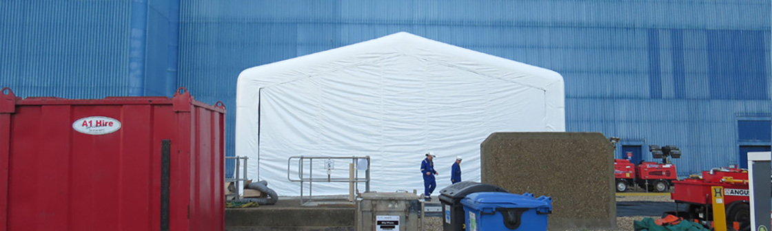 EDF Energy Inflatable Maintenance Enclosure 5