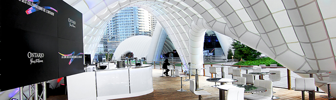 Ontario's Celebration Zone - Inflatable Pavilions 6