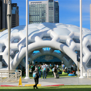 Tectoniks featured inflatable event structure 8