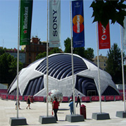 Champions League Inflatable Dome