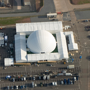 South Hook LNG 35m Inflatable Dome