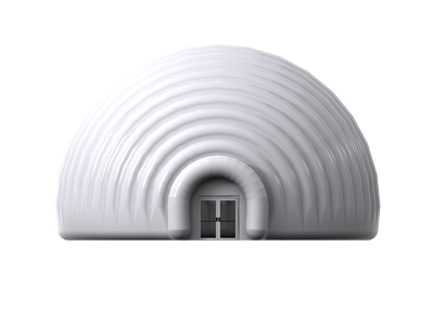 15m dome front