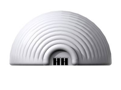 25m dome front